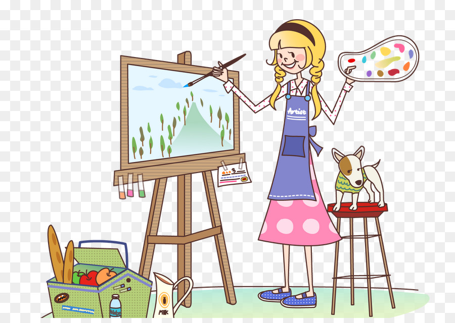 Картинка художник