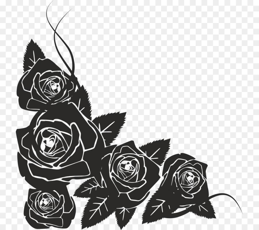 цветы черно белые картинки на открытку шкафы