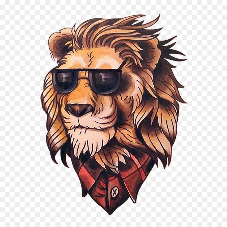 рисунки лев крутые можете