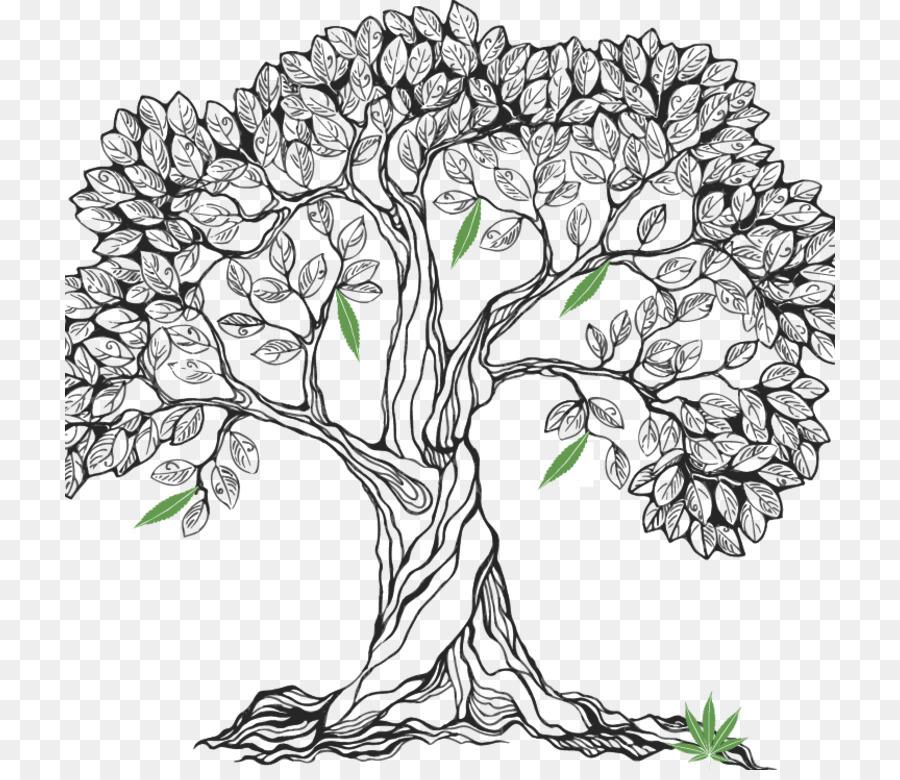 Дерево нарисовать картинки