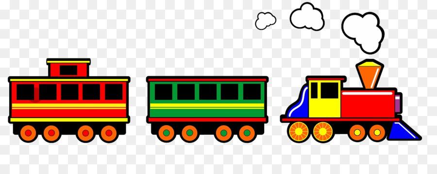 паровоз с вагонами рисунок на прозрачном фоне или даже