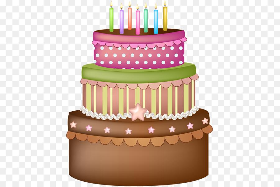 Торт со свечами картинки без фона
