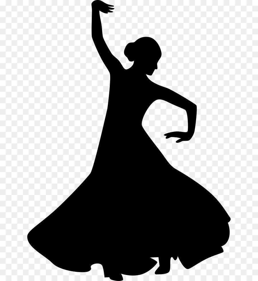 Фламенко картинки силуэт