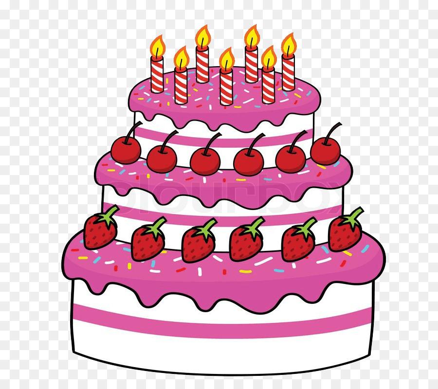Рисунки торта на день рождения