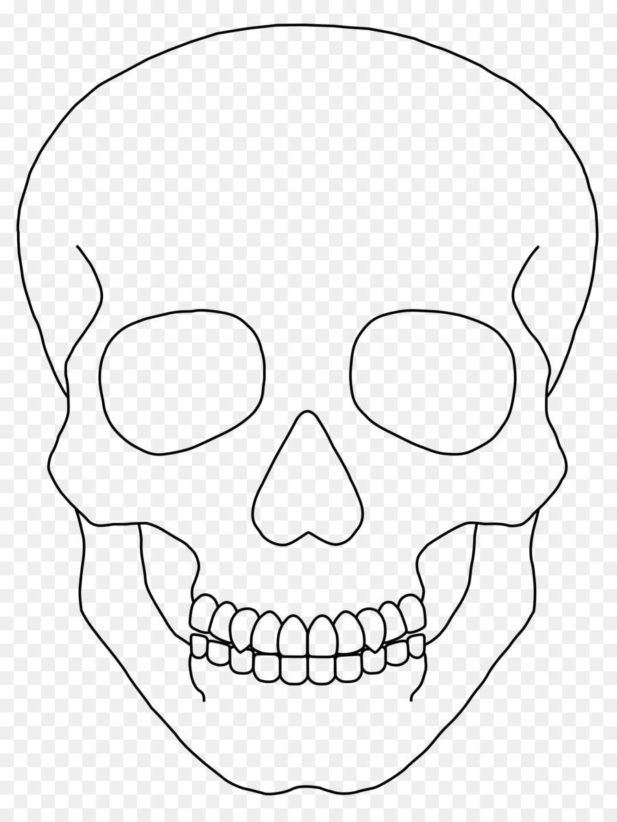 Картинки срисовать черепа