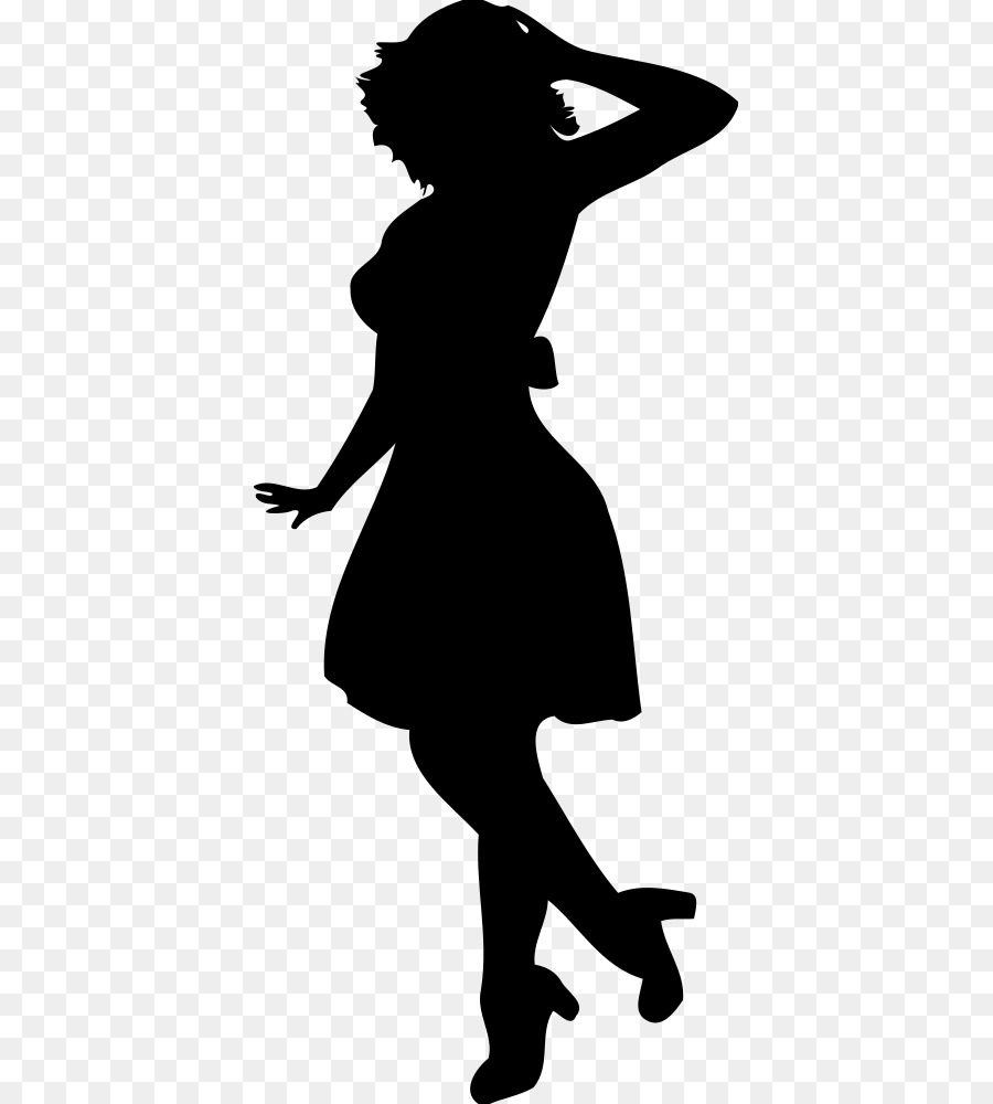 Днем, картинки с силуэтом женщины