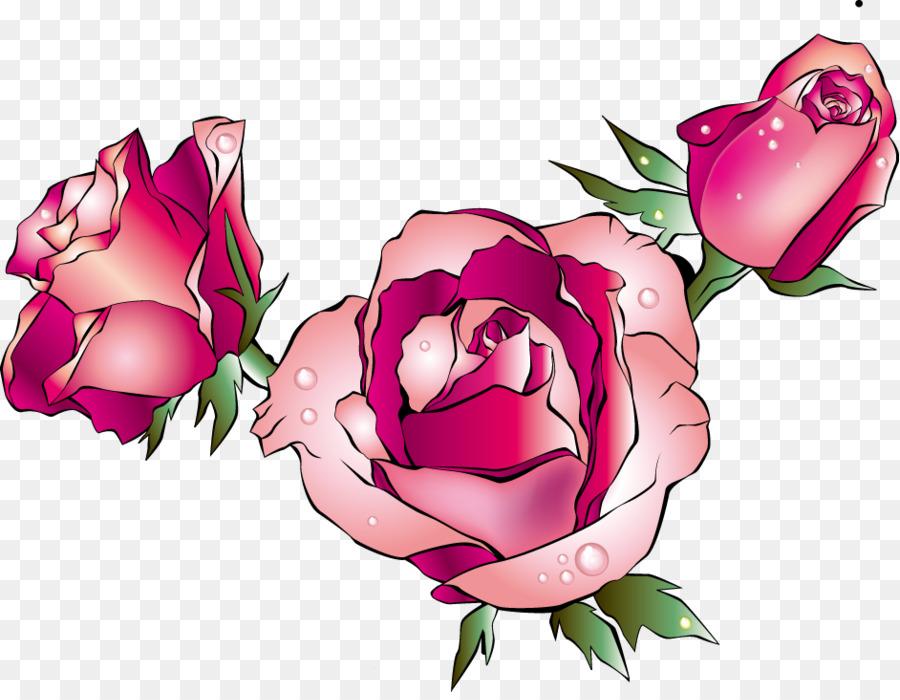 роза на белом фоне картинки мультяшные