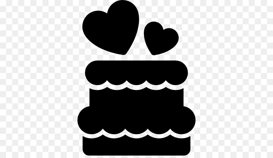 силуэтная картинка торта красивого модного