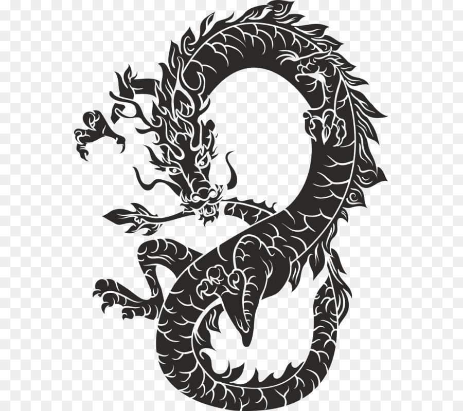 черный дракон китайский картинки японии
