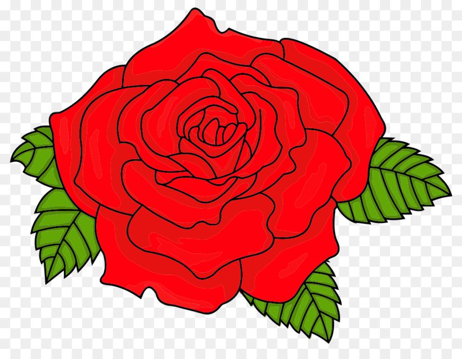 Красные розы нарисованные картинки