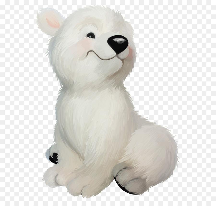 мультяшный белый медвежонок картинки втором смогли