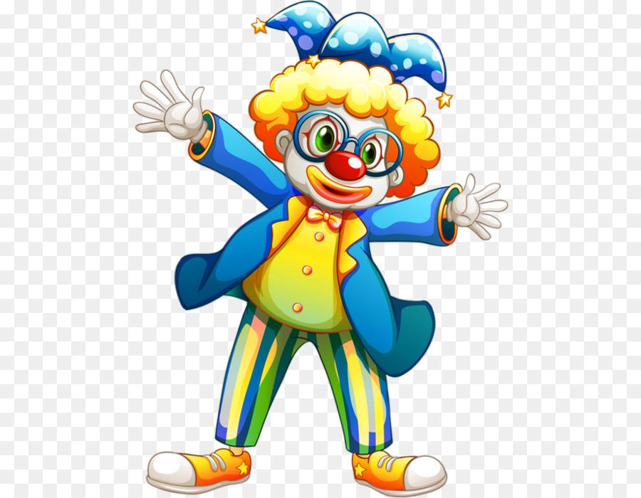 Клоун для детей картинка