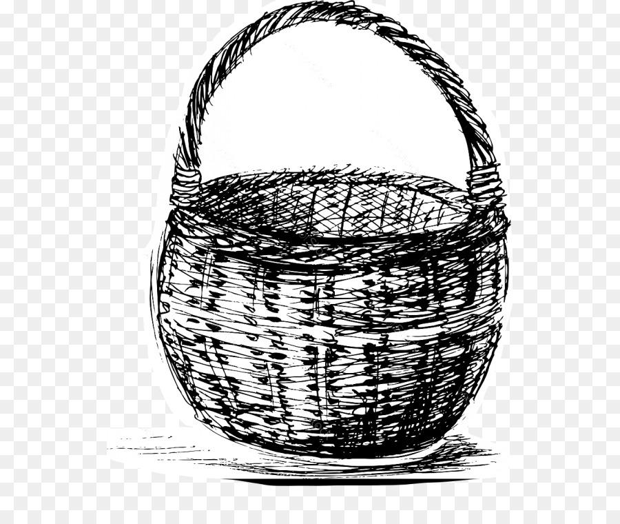 картинки как рисовать корзину