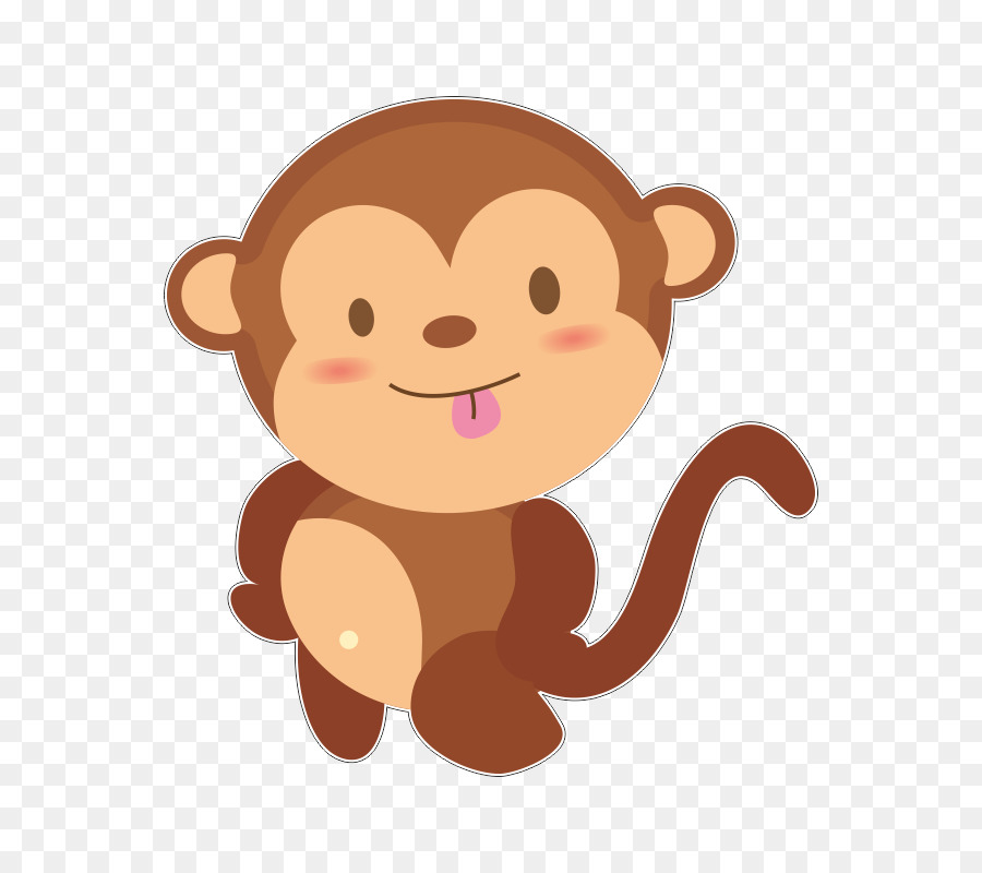 Смс открытка, картинка из мультиков прикольной обезьянки