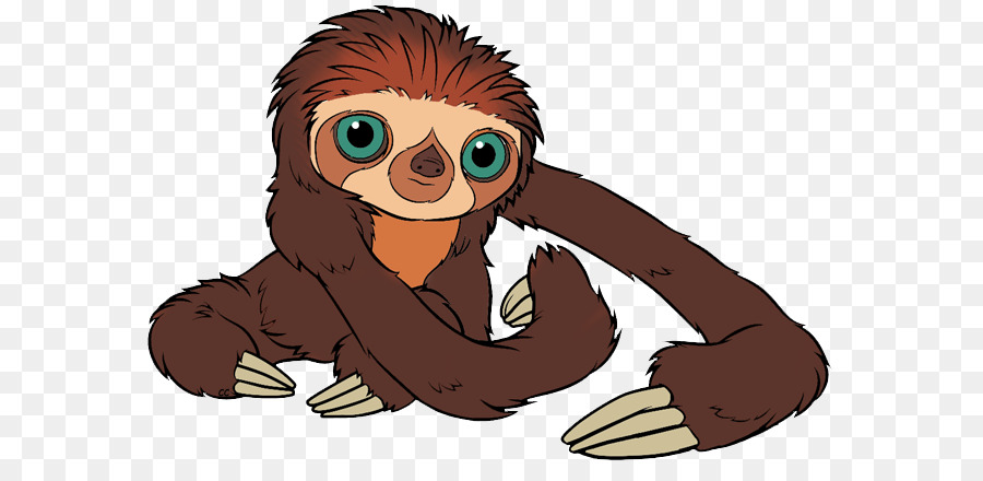 Картинка ленивца с мультика