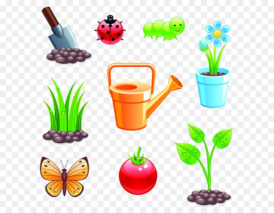 Растения сада картинка для детей