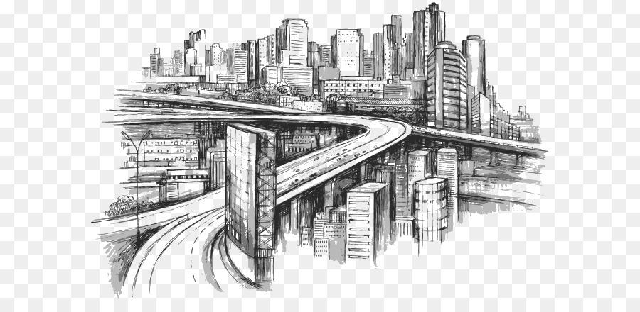 верит, мегаполис картинки рисунки половина территории