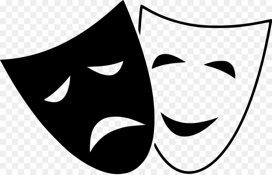Картинка маски театральные на прозрачном фоне