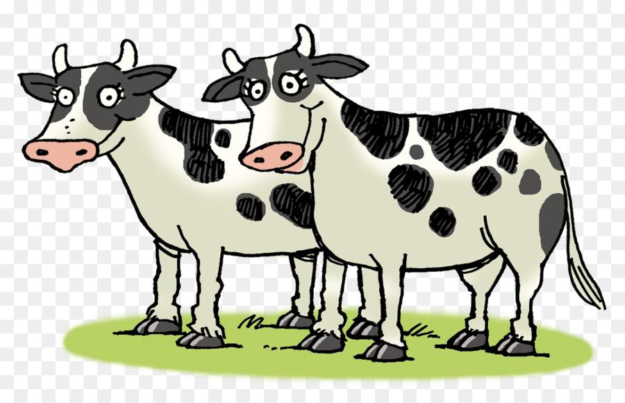 Картинка две коровы