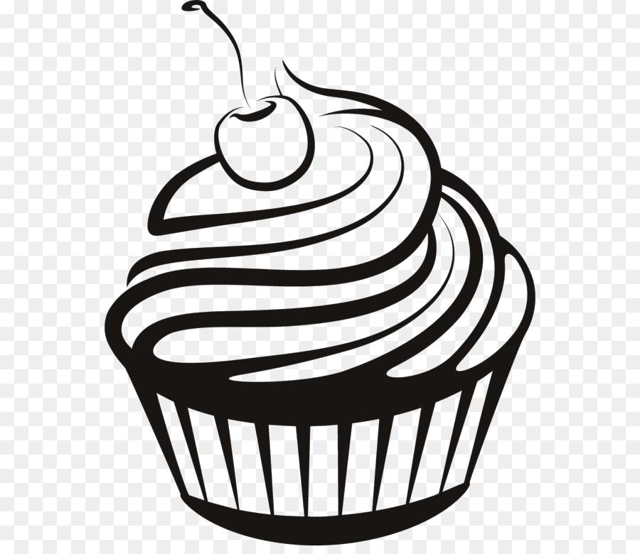 Картинки тортиков в черно белом