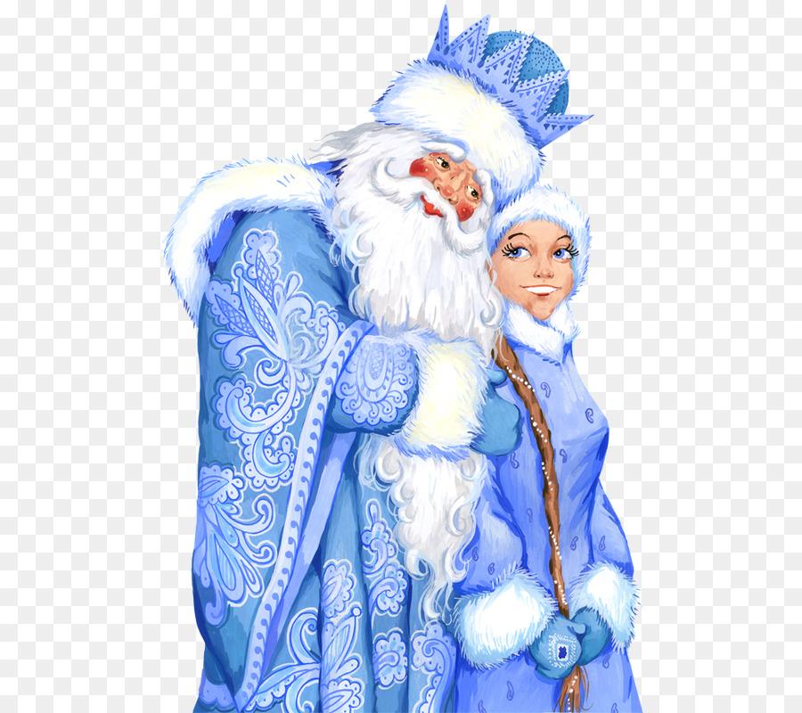 Картинка деда мороза с снегурочкой