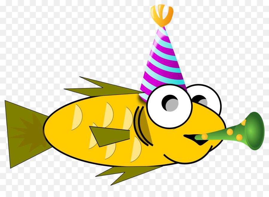 Рисунок смешной рыбки, новому году акварелью