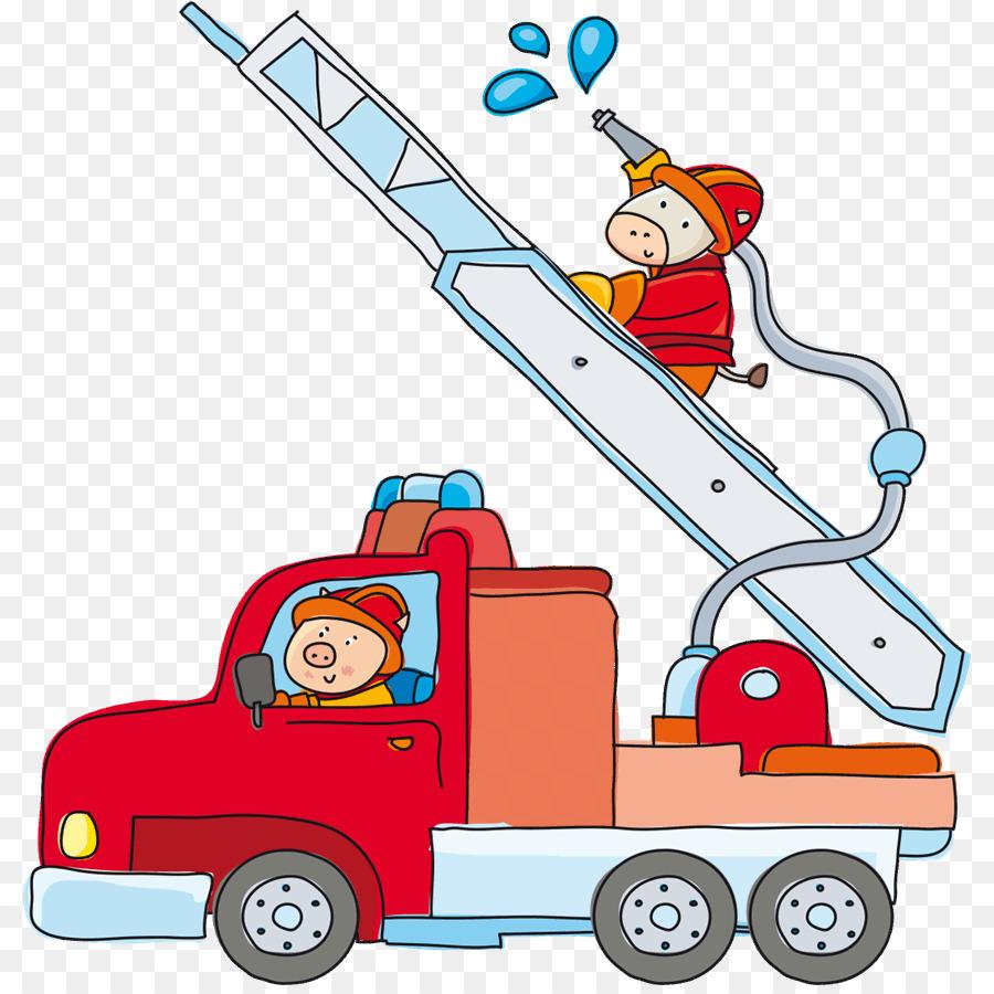 Картинка пожарная машина для малышей