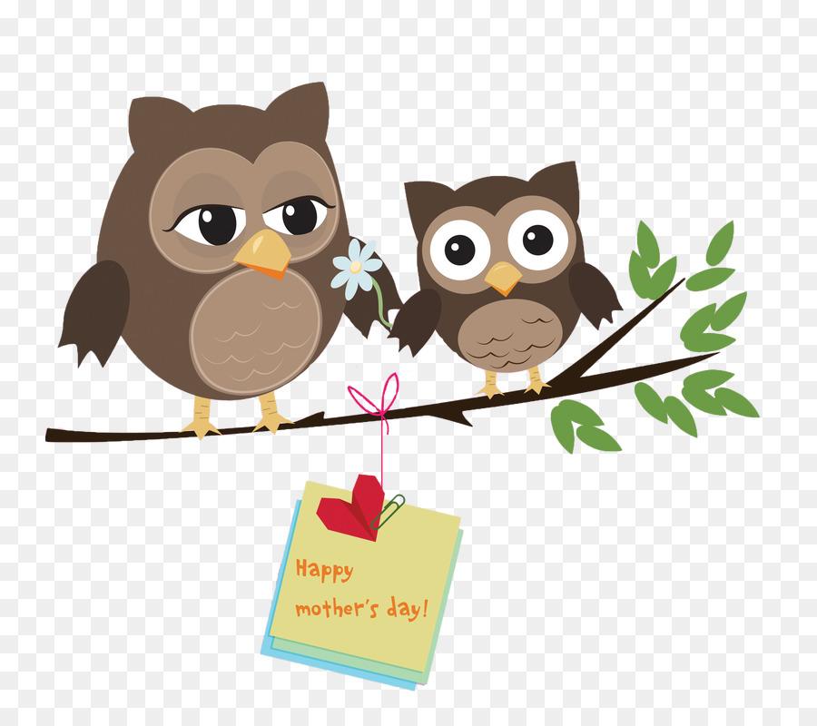 шаблон открытки совы обнимаются