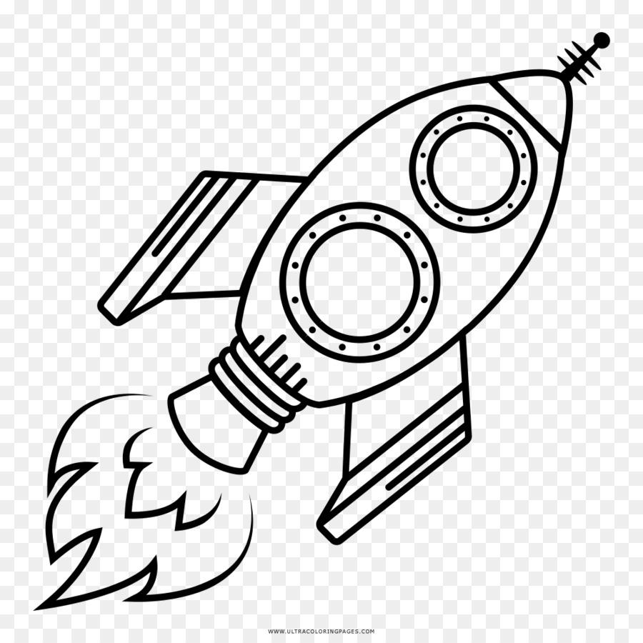 Рисунок с ракетой