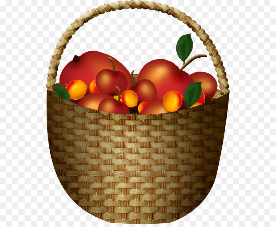 Про, картинка корзина с фруктами для детей