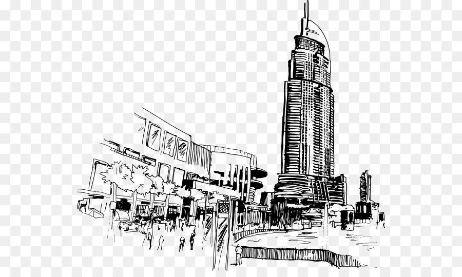 Дубай рисунок карандашом карибы виллы на продажу