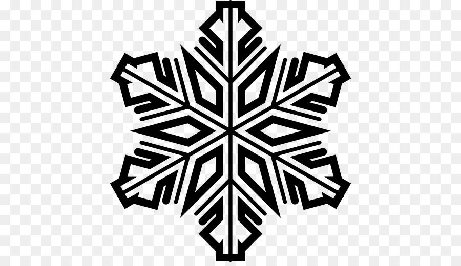 Картинка черно-белая снежинка