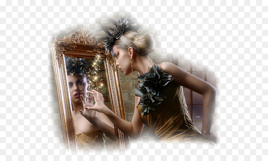 Нарисовать открытку, открытка отражение