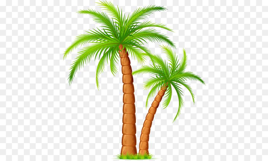 Картинка вектор пальмы