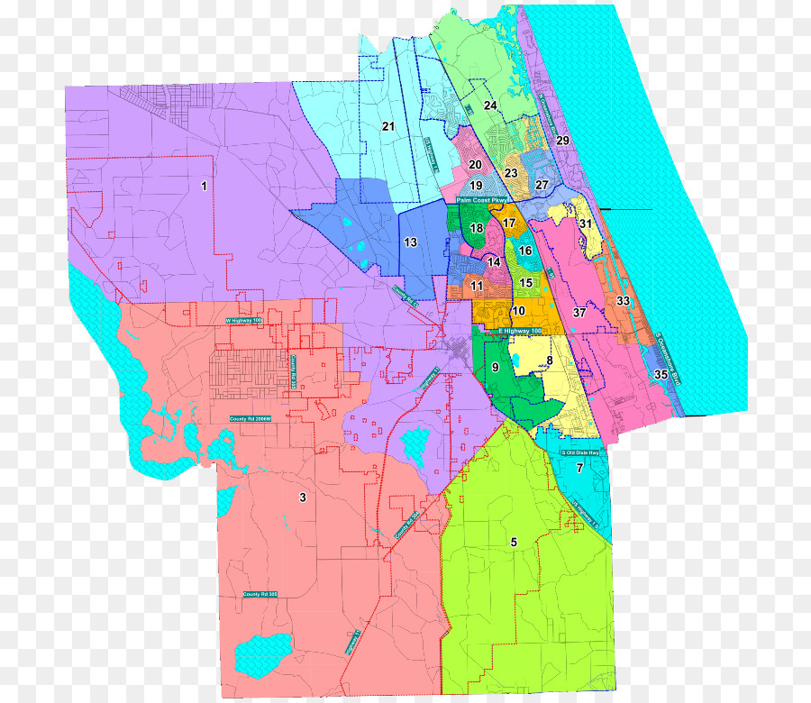 floridas congressional districts approved - 799×777