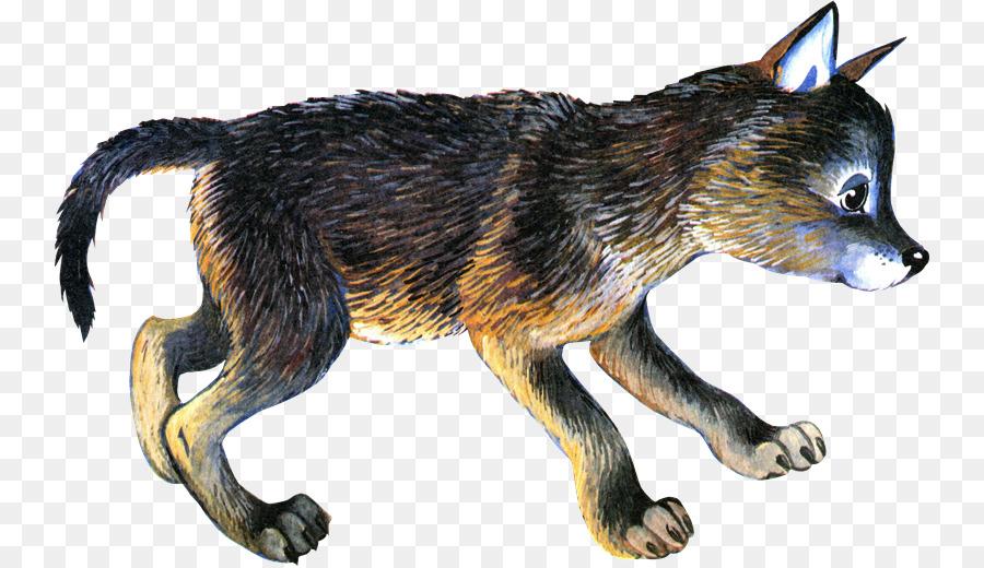 Волчонок картинка рисунок