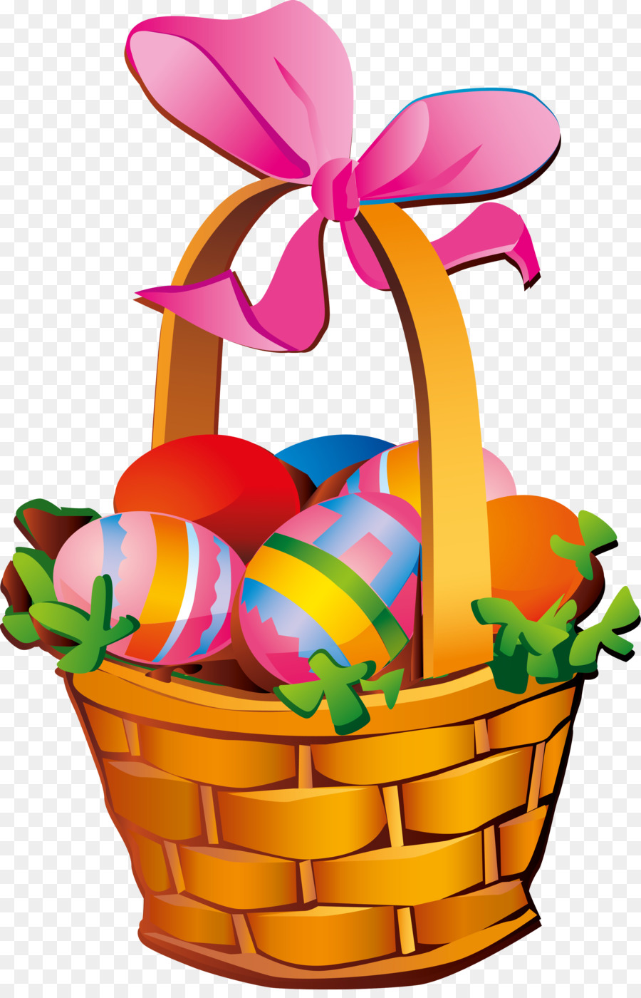 Корзинка с яйцами картинки для детей