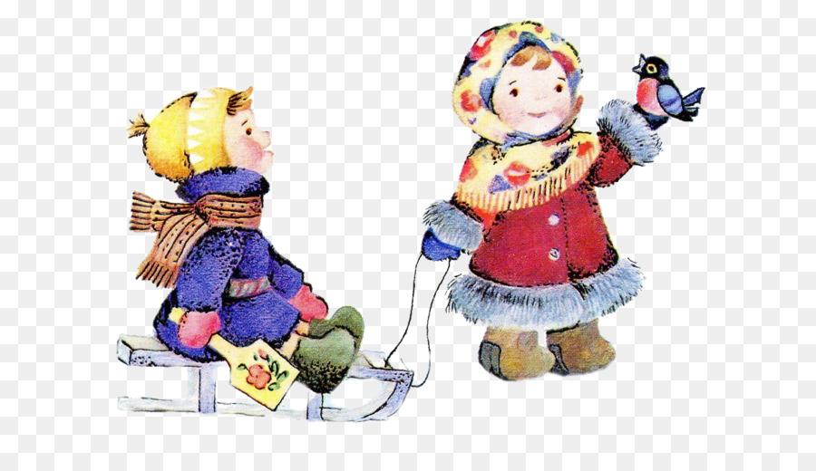 Картинка дети зимой на прозрачном фоне для детей