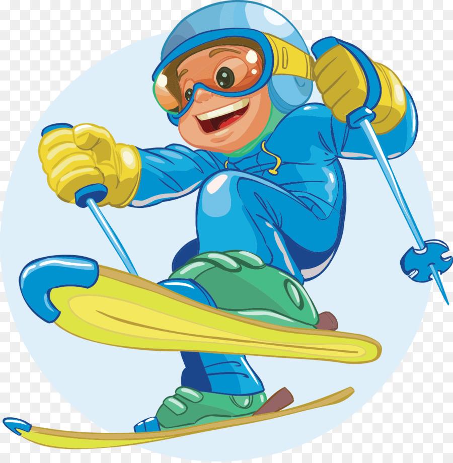 Картинки с лыжниками для детей