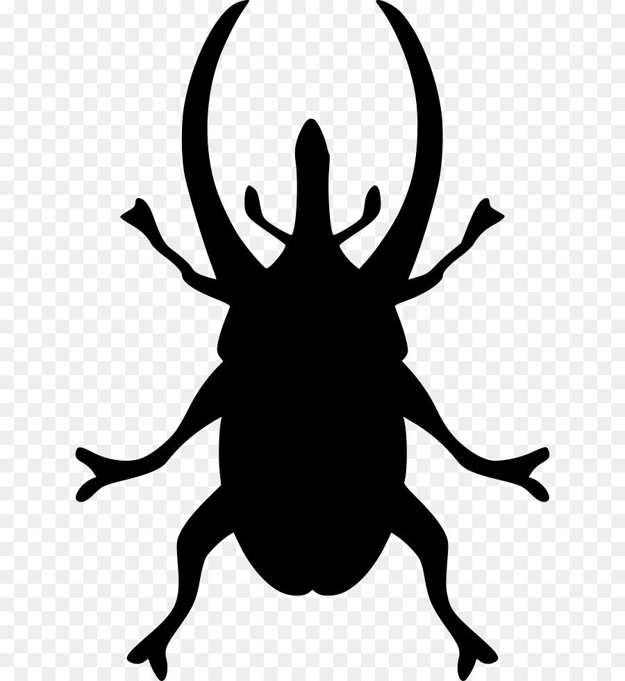Силуэт жука картинки