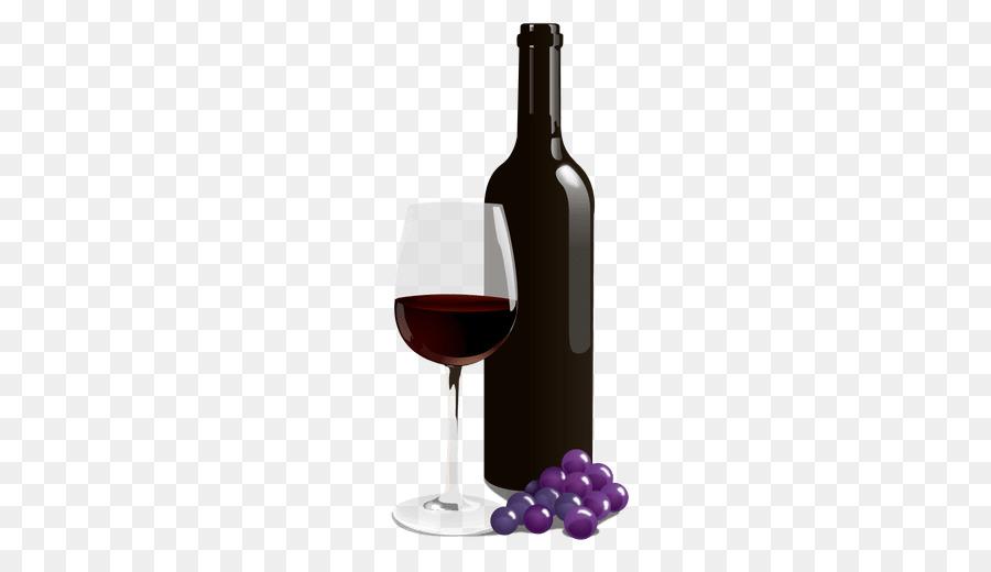 вино прозрачная картинка новый год