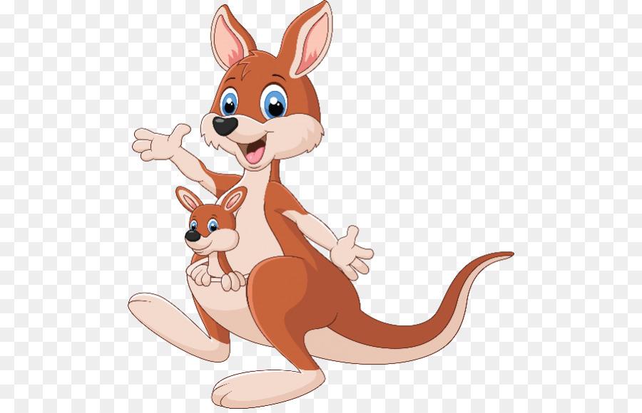 Картинка кенгуру мультяшный