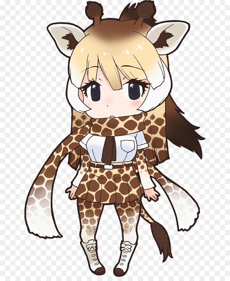 Аниме картинки жирафа