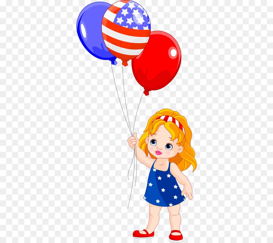 Ночи, картинка девочка с шариками нарисованная