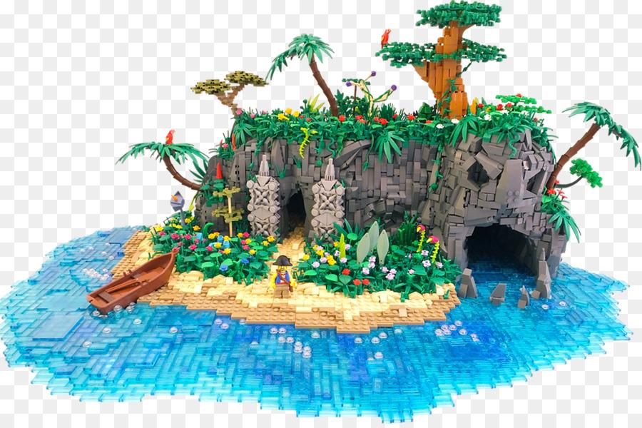 Картинка лего остров