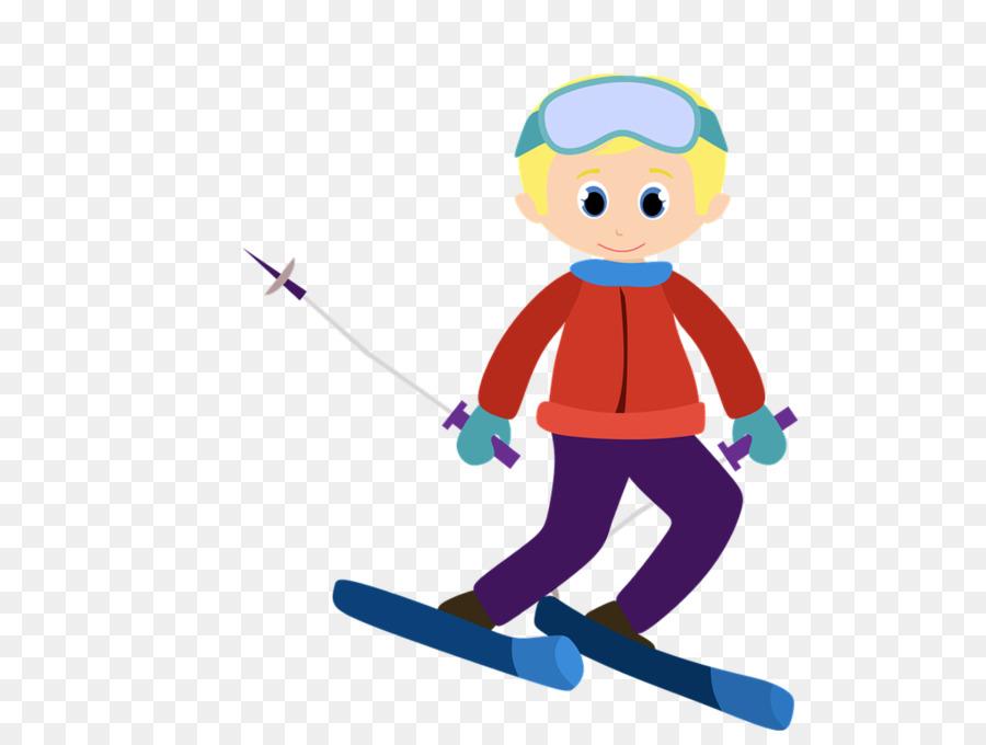 Картинки лыжники дети