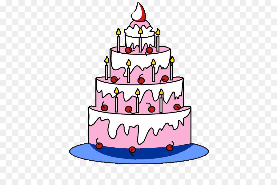 Открытки с днем рождения нарисовать торт