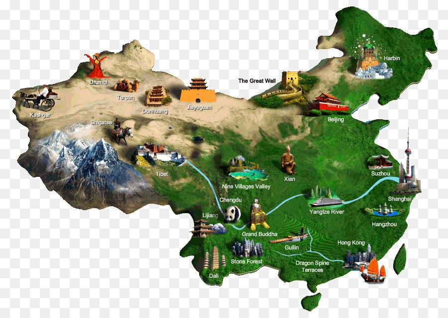 Карта туристическая картинки