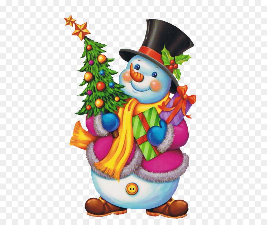 Картинки новогодние елочки и снеговик