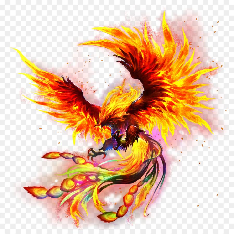 Картинки птица феникс на прозрачном фоне